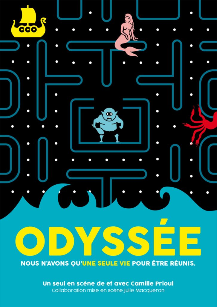 Flyer du spectacle Odyssée