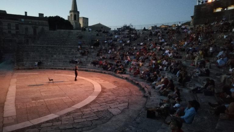 Représentation d'Odyssée dans le Théâtre antique d'Arles